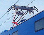 contactless systems for measuring overhead line parameters