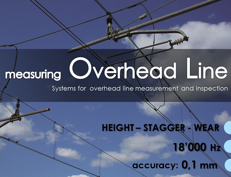 overhead line, catenary measuring system