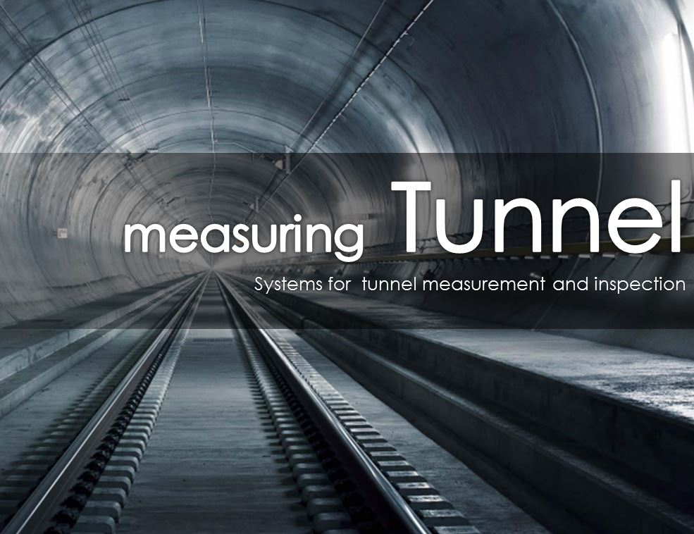 Rail tunnel measuring system