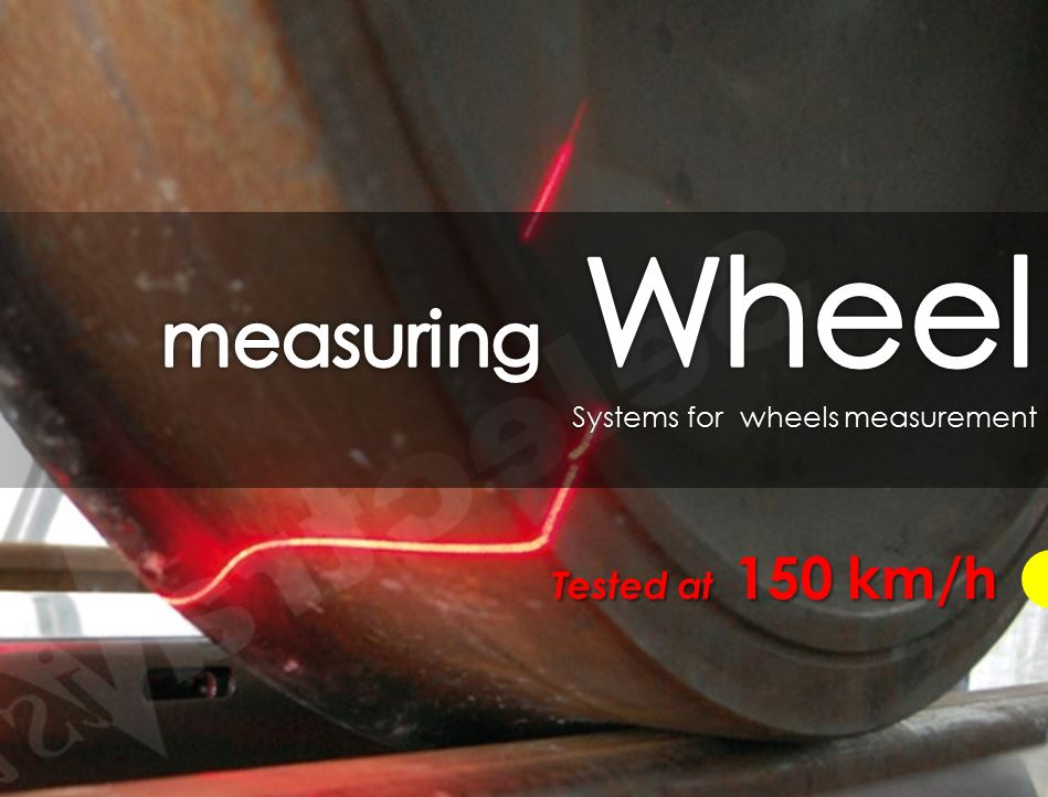 train wheel measuring system